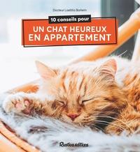 Laetitia Barlerin - 10 conseils pour un chat heureux en appartement.