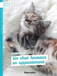 Laetitia Barlerin - Un chat heureux en appartement.