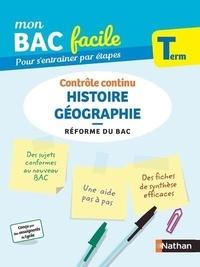 Laëtitia Benbassat et Frédéric Fouletier - Histoire Géographie Tle - Contrôle continu.