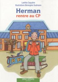 Laetitia Caquière - Herman rentre au CP.