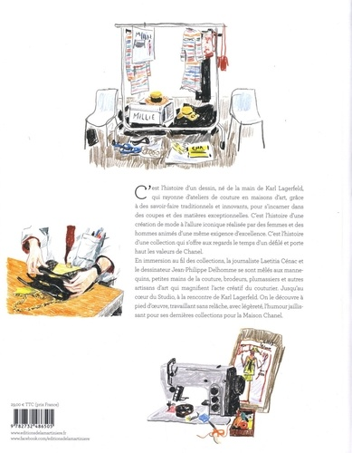 Dans les coulisses de Chanel