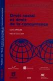 Laetitia Driguez - Droit social et droit de la concurrence.