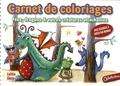 Laëtitia Gheno - Carnet de coloriages - Fées, dragons & autres créatures attachantes.