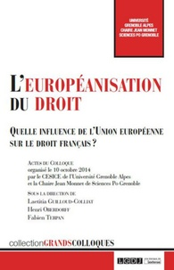 Accentsonline.fr L'européanisation au droit - Quelle influence de l'Union européenne sur le droit français ? Image