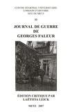 Laëtitia Leick - Journal de guerre de Georges Faleur.