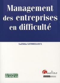 Laëtitia Lethielleux - Management des entreprises en difficulté.