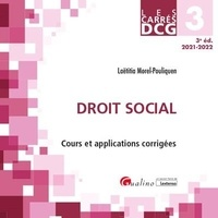 Laëtitia Morel-Pouliquen - DCG 3 Droit social.