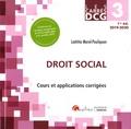 Laëtitia Morel-Pouliquen - Droit social DCG 3.