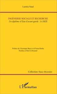 Laetitia Naud - Ingénierie sociale et recherche - Un diplôme d'Etat d'avant-garde : le DEIS.