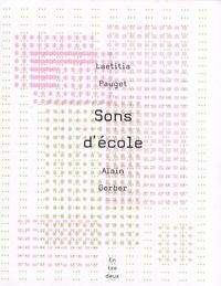 Laetitia Pauget et Alain Gerber - Sons d'école.