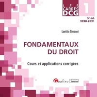 Laëtitia Simonet - DCG 1 Fondamentaux du droit.
