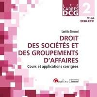 Laëtitia Simonet - Droit des sociétés et des groupements d'affaires DCG 2.