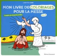 Deedr.fr Mon livre de coloriages pour la messe - Evangiles des dimanches et fêtes année B Image