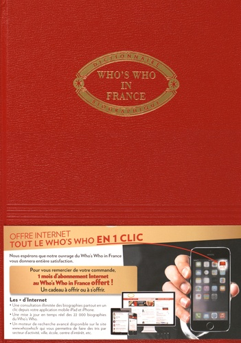 Lafitte-Hébrard - Who's Who in France 2016 - Qui est qui en France.