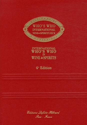 Lafitte-Hébrard - Who's Who international vins & spiritueux - Dictionnaire biographique.