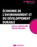 Lahsen Abdelmalki - Economie de l'environnement et du développement durable.
