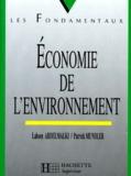 Lahsen Abdelmalki et Patrick Mundler - Économie de l'environnement.