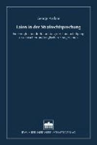 Laien in der Strafrechtsprechung - Eine vergleichende Betrachtung der Laienbeteiligung an deutschen und englischen Strafgerichten.