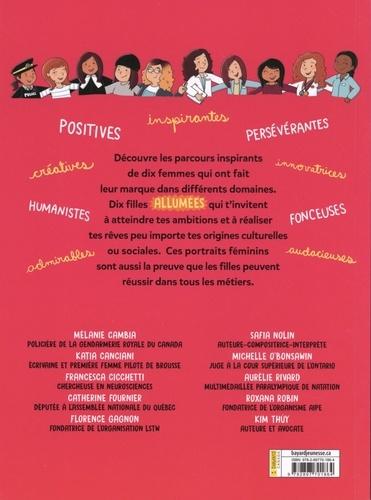 Dix filles allumées !. 10 parcours inspirants