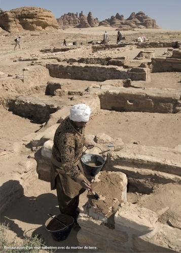 Archéologie au pays des Nabatéens d'Arabie. Guide de Hégra