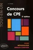 Laïla Sada - Concours de CPE - Fiches, méthodologie, annales corrigées.