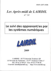 LAIRDIL - Les après-midi de LAIRDIL N° 14 : Le suivi des apprenant/es par les systèmes numériques.