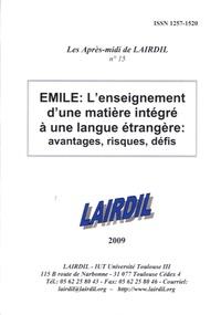 LAIRDIL - Les après-midi de LAIRDIL N° 17 : Didactique des langues, didactique des sciences.