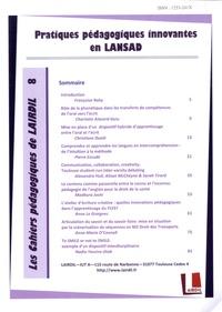 Nicole Décuré - Les Cahiers Pédagogiques de LAIRDIL N° 8 : Pratiques pédagogiques innovantes en LANSAD.