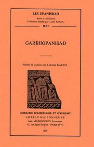 Lakshmi Kapani - Garbhopanisad.