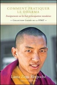 Lama Thoubten Zopa Rinpoché - Comment pratiquer le Dharma - Enseignements sur les huit préoccupations mondaines.
