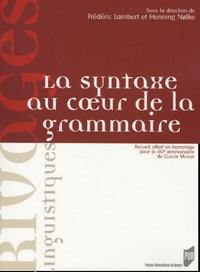 Lambert - La syntaxe au coeur de la grammaire.