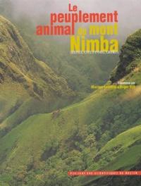 LAMOTTE M. & ROY R. - Le peuplement animal du Mont Nimba (Guinée, Côte  d'ivoire, liberia). 1 Cédérom