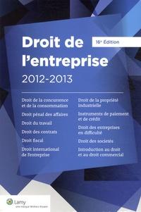 Lamy - Droit de l'entreprise 2012-2013.