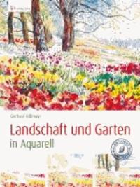 Landschaft und Garten in Aquarell.