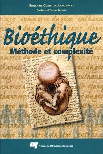 Langavant - Bioéthique : méthode et complexité.
