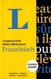 Langenscheidt - Langenscheidt Abitur-Wörterbuch Französisch.