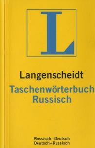 Langenscheidt - Langenscheidt Taschenwörterbuch Russisch Deutsch/Deutsch Russisch.