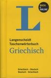 Langenscheidt - Taschenwörterbuch Griechisch - Griechisch-Deutsch, Deutsch-Griechisch.
