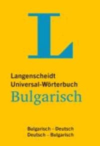Langenscheidt Universal-Wörterbuch Bulgarisch - Bulgarisch-Deutsch / Deutsch-Bulgarisch.
