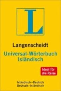 Langenscheidt Universal Wörterbuch Isländisch - Isländisch - Deutsch / Deutsch - Isländisch. NEU: Ideal für die Reise.