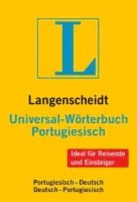 Langenscheidt Universal-Wörterbuch Portugiesisch - Portugiesisch - Deutsch / Deutsch - Portugiesisch. Rund 33 000 Stichwörter und Wendungen.