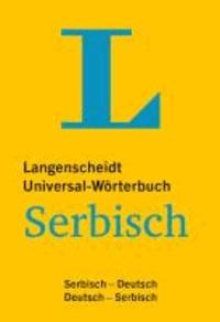 Langenscheidt Universal-Wörterbuch Serbisch - Serbisch-Deutsch / Deutsch-Serbisch.