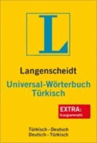 Langenscheidt Universal-Wörterbuch Türkisch - Türkisch - Deutsch / Deutsch - Türkisch. Rund 30 000 Stichwörter und Wendungen.