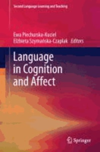Language in Cognition and Affect.
