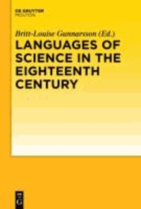 Languages of Science in the Eighteenth Century.