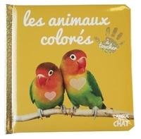 Langue au chat - Les animaux colorés.