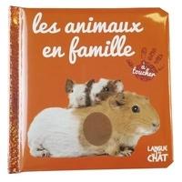 Langue au chat - Les animaux en famille.