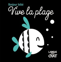 Langue au chat - Vive la plage.