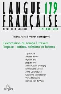 Nathalie Jouven - Langue française N° 179, septembre 20 : L'expression du temps à travers l'espace - Entités, relations et formes.