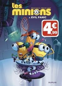 Lapuss' et Renaud Collin - Les Minions Tome 2 : Evil Panic.